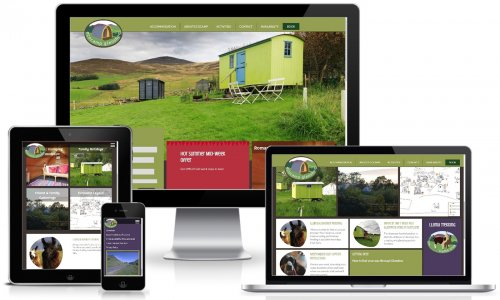Ecocamp Glenshee Website Multiview