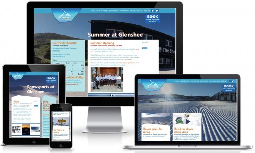 Ski Glenshee Website Multiview