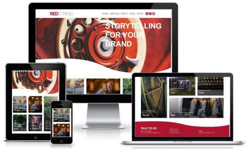 Red String Website Multiview