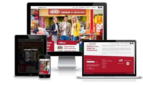 St. Johns Shopping Centre across multiple devices